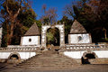 Bom Jesus Entrance Royalty Free Stock Photo