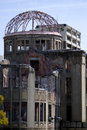 A bomb dome hiroshima japan the ruins of the in Stock Photography