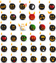 Bomb emotions Stock Images