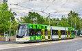 Bombardier E Class tram at Parliament Station in Melbourne, Australia Royalty Free Stock Photo