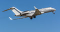 Bombardier Global 6000 private aircraft Royalty Free Stock Photo