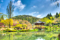 Bomun tourist place in gyeongju south korea Stock Photos