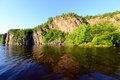 Bon echo park in canada tranquil scenery of Stock Image