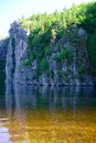 Bon echo park peaceful scenery of in canada Royalty Free Stock Photography