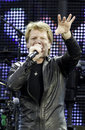 Bon Jovi Live 2011 Tour Royalty Free Stock Images