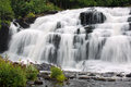 Bond Falls, Ontonagen River, Michigan Royalty Free Stock Photo