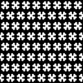 Bone black and white seamless pattern Royalty Free Stock Photography