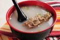 Bone soup Royalty Free Stock Photo