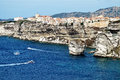 Bonifacio city, Corsica Royalty Free Stock Photography
