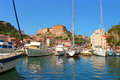 Bonifacio corsica old town south island Royalty Free Stock Images