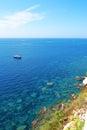 Bonifacio corsica photo taken during my travel in island Stock Images