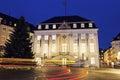 Bonn Rathaus At Night