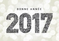 Bonne Annee 2017 Royalty Free Stock Photo