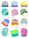 Bonnets Stock Photo