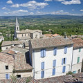 Bonnieux french village in Provence. Royalty Free Stock Photos