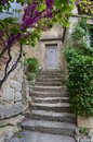 Bonnieux is a hilltop village of provence Royalty Free Stock Photo