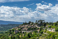 Bonnieux in the luberon hill top village of provence Royalty Free Stock Photography
