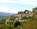 Bonnieux village provence france Royalty Free Stock Photos