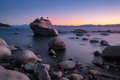 Bonsai Rock at Lake Tahoe Royalty Free Stock Photo