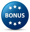 Bonus icon blue round button Royalty Free Stock Photo