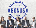 Bonus Prize Profit Incentive Additional Compensation Concept Royalty Free Stock Photo