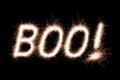 Boo! Royalty Free Stock Photo