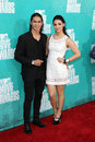 Booboo Stewart and Fivel Stewart arriving at the 2012 MTV Movie Awards Royalty Free Stock Image