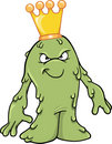 Booger Slime King Vector Illustration Royalty Free Stock Images