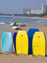 Boogie Boards For Rent Royalty Free Stock Photography