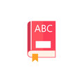 Book flat icon, education and school element