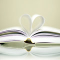 Book, heart Royalty Free Stock Photos