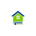 Book house education logo