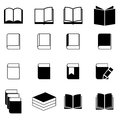 Book icon set this is file of eps format Stock Photo