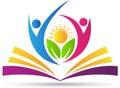 Book logo Royalty Free Stock Photo