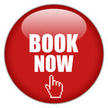 Book now button Royalty Free Stock Images