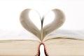 Book Page Like A Heart