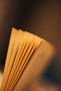 Book pages vintage closeup at abstract background Stock Photos