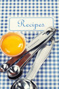 The book of recipes Royalty Free Stock Photo