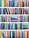 Book Shelf. Plastic Illustrati...