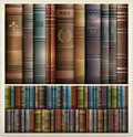 Book stack background new stacks color vector illustration Royalty Free Stock Photography