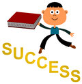 Book of success Stock Image