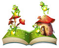 Book of toads and toadstool