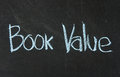 BOOK VALUE words Stock Images