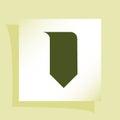 Bookmark icon Royalty Free Stock Photo