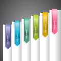 Bookmark Labels Arrow Royalty Free Stock Photo