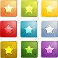 Bookmark navigation icon Royalty Free Stock Photo