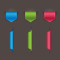 Bookmarks. Vector illustration Royalty Free Stock Image