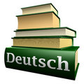 Books ducationtysk Royaltyfri Bild