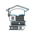 books education line icon