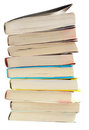 Books isolated Royalty Free Stock Photos